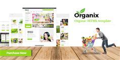 有机农产品电商HTML模板_绿色响应式果蔬商城模板 - Organix