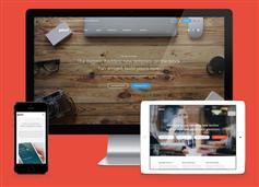 html企业网站模板带页面构建器_大气企业网站HTML5模板 - Pivot