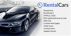 汽车租赁网站模板HTML5响应式设计_汽车租赁模板 - RENTAL CARS