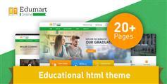 绿色培训教育机构网站HTML5模板_学校网站模板 - Edumart