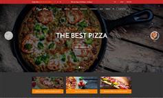 响应式披萨餐厅网站html5模板_披萨在线订购网站模板