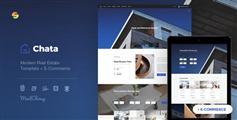 Bootstrap房地产&建筑行业网站模板电子商务模板 - Chata