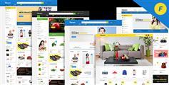 6种响应式电子商务Html5模板精美电商Html模板|Flipmart