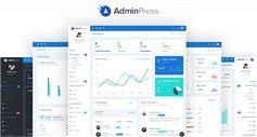 强大的Bootstrap4后台模板CRM管理系统框架|AdminPress