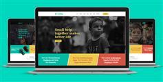 响应式慈善捐款社会福利Bootstrap模板