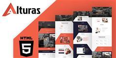 Bootstrap响应式企业网站HTML模板