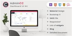 AdminCC - Bootstrap管理后台UI框架HTML模板