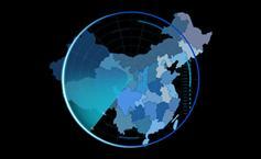 html5实现地图雷达扫描动画炫酷特效