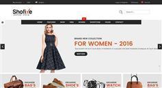 24个主页服装电商Bootstrap模板|Shofixe