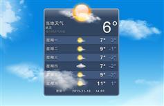 酷炫天气预报