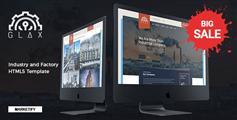精美响应式工厂网站HTML5模板