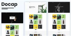 响应式作品集网站HTML模板