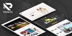 响应式运动鞋商城HTML5模板