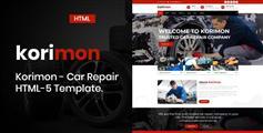 响应式汽修厂汽车修理服务Bootstrap模板