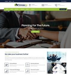 大气响应通用企业网站Bootstrap4模板