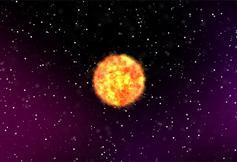 HTML5 Canvas太陽燃燒動畫特效