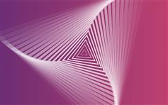 CSS3 SVG三角形不断放大特效