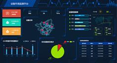 HTML5設備環境監測平臺大數據頁面