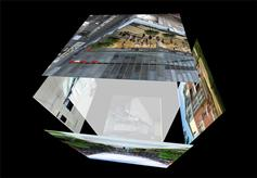 CSS3自动旋转正方体3D特效