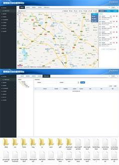智慧路灯监控后台管理系统模板