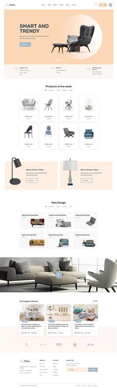 多用途的商品銷售電商網頁bootstrap模板
