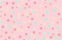 Canvas彩色樱花图案背景特效