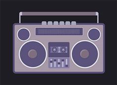 录音机磁带转动CSS3特效
