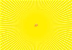 CSS3网页放射线旋转动画特效
