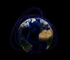 酷炫的3D互联网地球动画特效