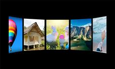 HTML5传送带视差图片展示特效