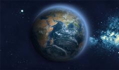 H5可按经纬坐标定位地球仪特效