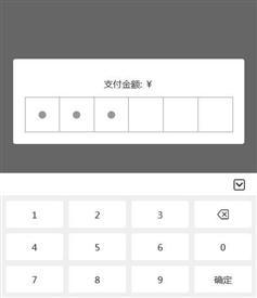 手机端弹窗输入支付密码特效