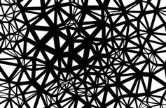 Canvas全屏网状线条图案动画特效