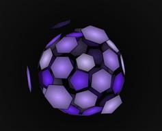 纯CSS3 3D网状球动画特效
