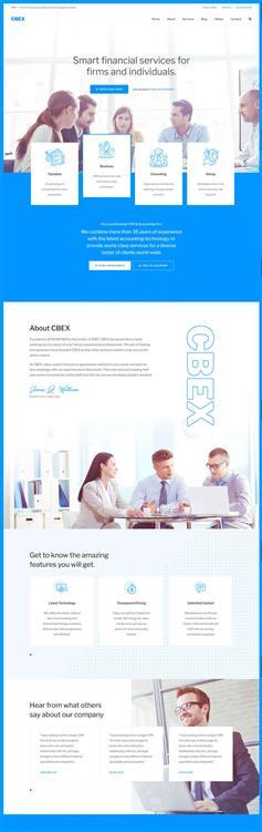 响应式会计财务公司网页模板