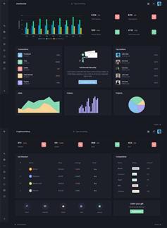多用途电商数据统计后台管理模板